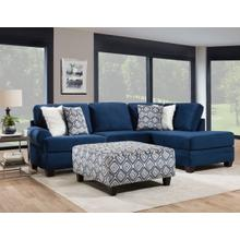 See Details - GROOVY NAVY SECTIONAL