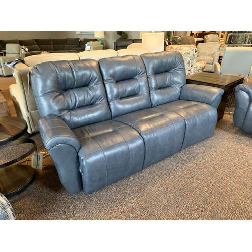 Unity Steel Leather Power Recliner w. Space Saver Function