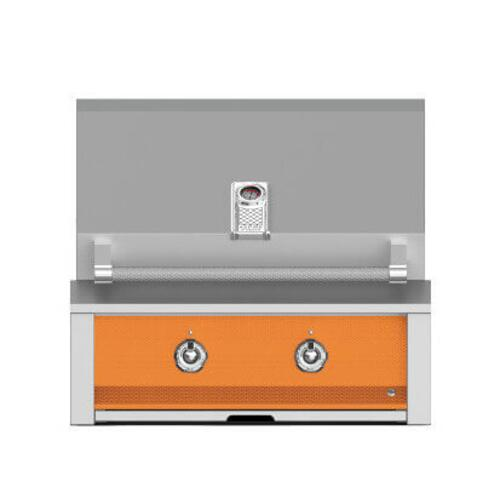 "Hestan - Aspire By Hestan 30"" Built-In U-Burner Grill LP Citra Orange"