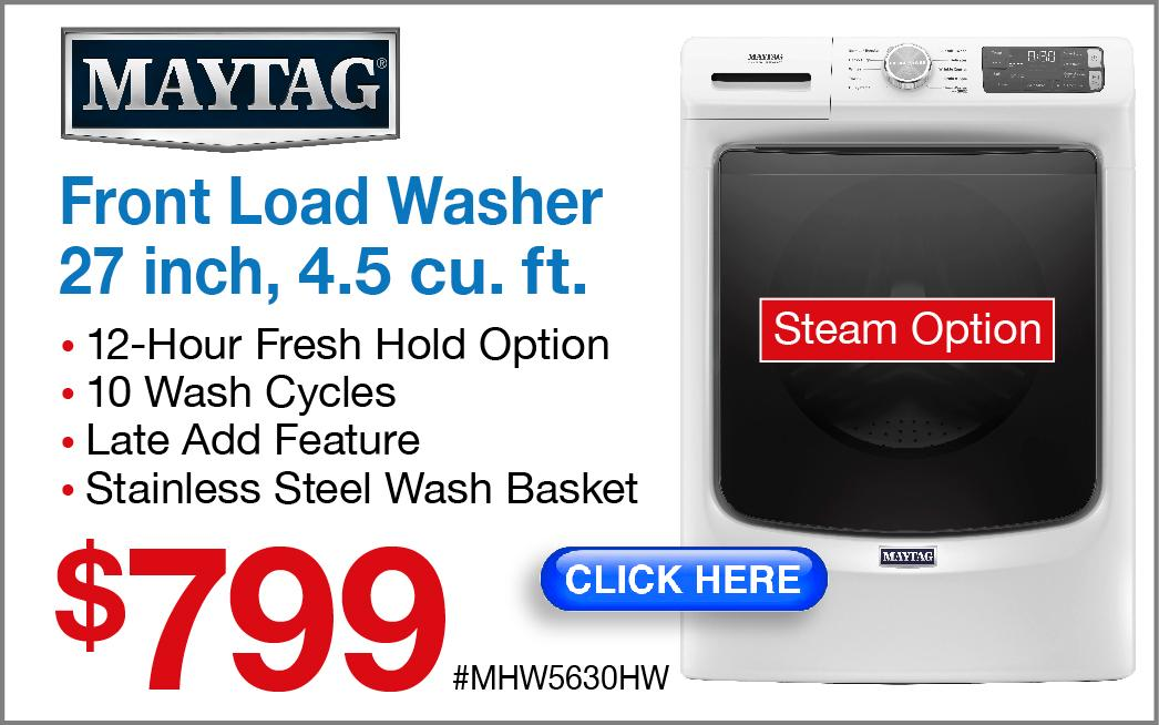 Maytag Front Load Washer MHW5630HW