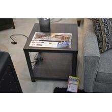 Ashley Furniture all metal end table.