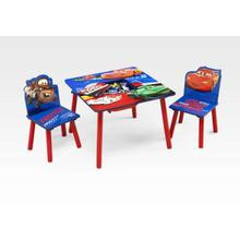 Cars Table and Chair Set W/ Storage