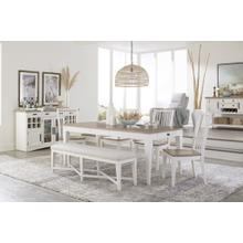 See Details - Transitional dining set/ Server also available