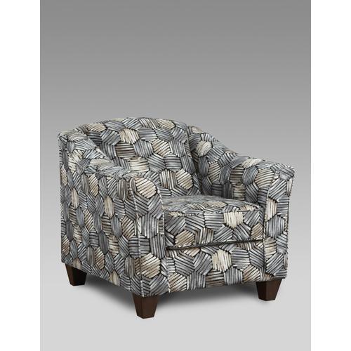 9011 Sparkle Graphite Accent Chair