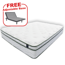 Buy the KING'S CHOICE Pure Touch Queen Mattress, get a FREE Adjustable Base!