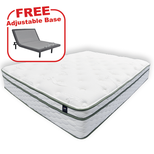 Packages - Buy the KING'S CHOICE Pure Touch Queen Mattress, get a FREE Adjustable Base!