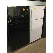 SCRATCH & DENT GE Refrigerator (Black)