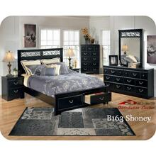 Ashley B163 Shoney Bedroom set Houston Texas USA Aztec Furniture