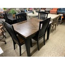 "5 Piece ""Beaver Creek"" Dining Set"