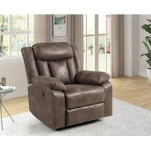 Stewart Power Glider Recliner in Adobe