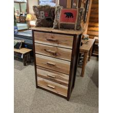 See Details - Promo Hickory 5-Drawer Chest