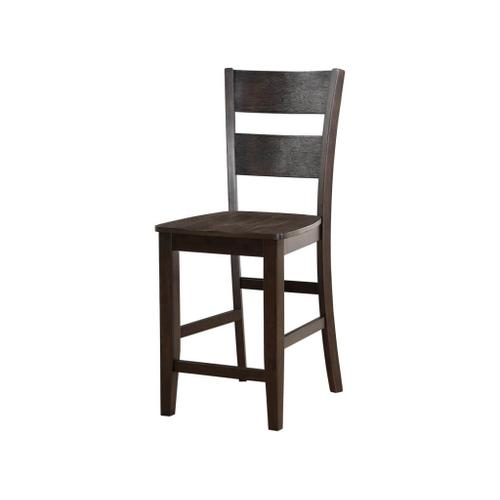 Wire Brushed Counter Height Pub Chair