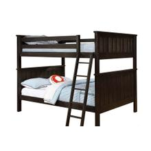 Belfort Full over Full Bunk Bed - Espresso
