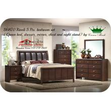 Crown Mark Furniture B6870 Torino Bedroom set Houston Texas USA Aztec Furniture