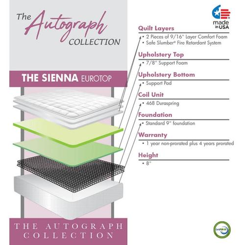 The Autograph Collection - Sienna - Euro Top