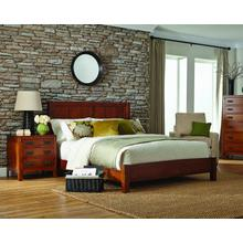 View Product - American Craftsman Panel Bed'