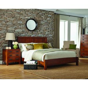 Palettes By Winesburg - American Craftsman Panel Bed'