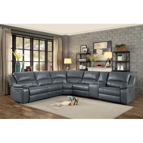 Falun Power Reclining 6pc. Sectional