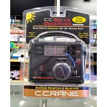 Solar Observer Emergency AM/FM/Weather Radio