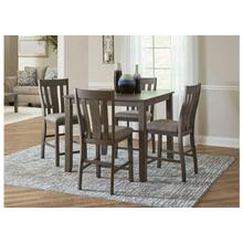 Table and 4 Bar Stools