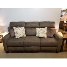 Mt. Vernon Transitional Double Reclining Power Plus Sofa with Pillows and USB Ports