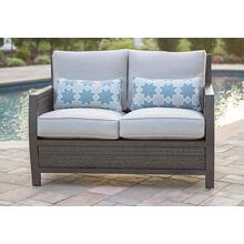 Agio International Aurora Loveseat with 2 lumbar pillows