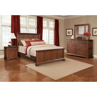 1500 Group:  King Bed, Dresser, Mirror, Chest & 2 Nightstands