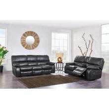 Console Reclining Loveseat	Grey/Black