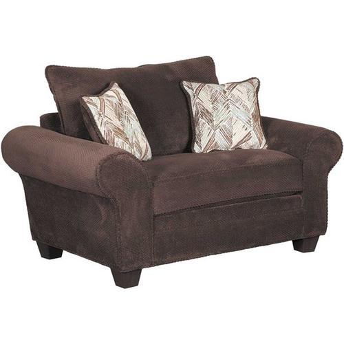 BEHOLD 1000-03-2505-27, 1000-02-2505-27, 1000-01-2505-27, 1000-00-2505-27 Trinidad Artesia Chocolate Sofa, Loveseat, Chair & Ottoman Group