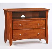 Clove TV Stand Cherry Finish
