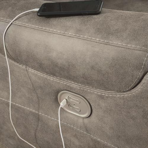 Yacolt Power Recliner with Power Headrest