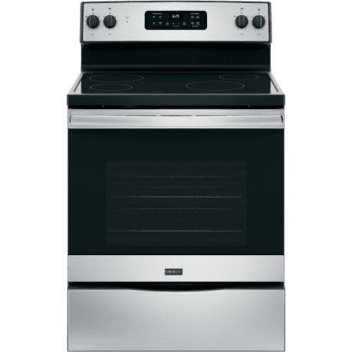 Treviño Appliance - Crosley Electric Glass Top Range
