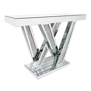 Signature Design By Ashley - Gillrock Silver Accent Console Table