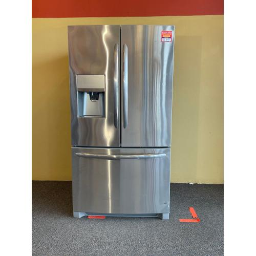 Treviño Appliance - FrigidAire Stainless Steel French Door Refrigerator