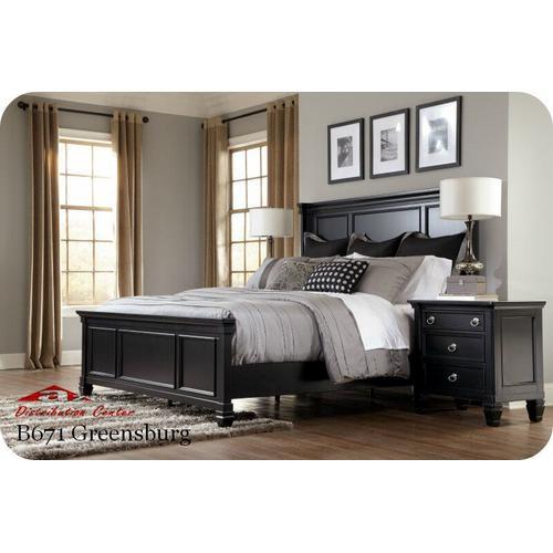 Ashley Furniture - Ashley B671 Greensburg Millennium Bedroom set Houston Texas USA Aztec Furniture
