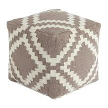 Timber and Tanning Pouf