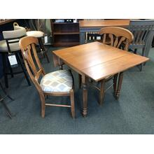 See Details - Dropleaf Dinette Table with Manor House Side Chairs