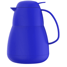 See Details - Helios Zeo Insulated Server Glass Liner Matte Finish Blue, 34 Ounces