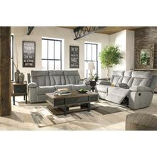 Mitchiner- Gray Reclining Sofa and Loveseat