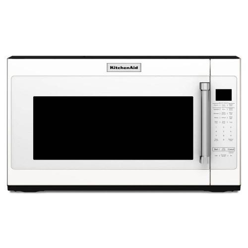 Kitchenaid 2.0CF White Over the Range Microwave