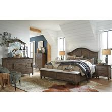 See Details - King Bed, Dresser, Mirror and Nightstand (QUEEN AVAILABLE)