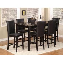 See Details - Pub Table & 6 Chairs
