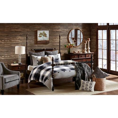 Jla Home - Urban Cabin King Comforter Set