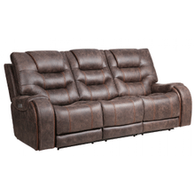 Canyon Walnut Power Headrest Reclining Sofa   (WARE-CANYON)