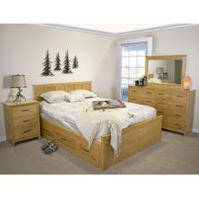 View Product - Shaker Captains Bed