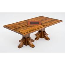 Mustang Canyon Double Pedestal Table