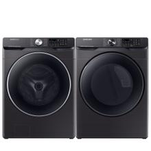 See Details - SAMSUNG Smart 4.5 cu. ft. Front Load Washer & 7.5 cu. ft. Electric Dryer - Open Box