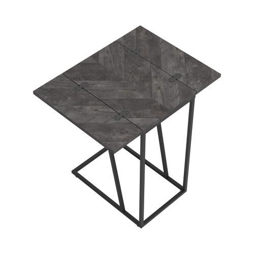 Coaster - Chevron Gray Expandable Accent Table