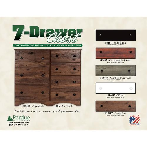 Gallery - 7 Drawer Chest