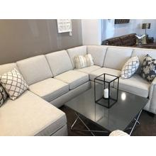3 PIECE SECTIONAL WITH NAILHEADS